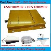 Mall ретранслятор сигнала GSM DCS Мобильный усилитель сигнала 2 г LTE 4 г Сотовый телефон усилители сигнала + всенаправленная антенна + коаксиальны