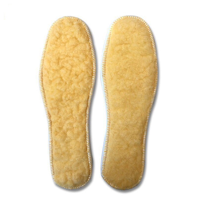 1 Pair Wool Insoles Winter Thick Sheep Cashmere Unisex Insole High Quality Warm And Breathable Shoesinsoles For Men And Women afs jeep cashmere inner men s thick 100