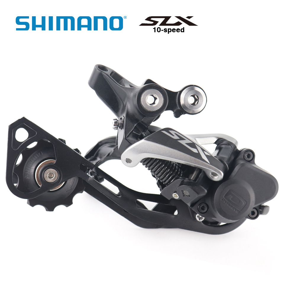 Shimano SLX RD-M7000 10-SGS 10 Speed Rear Derailleur MTB bike derailleurs цена