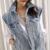 Chaleco de las mujeres 2016 otoño nueva personalidad para hacer el viejo lavado chaleco de mezclilla deshilachada chaqueta femenina floja S2280