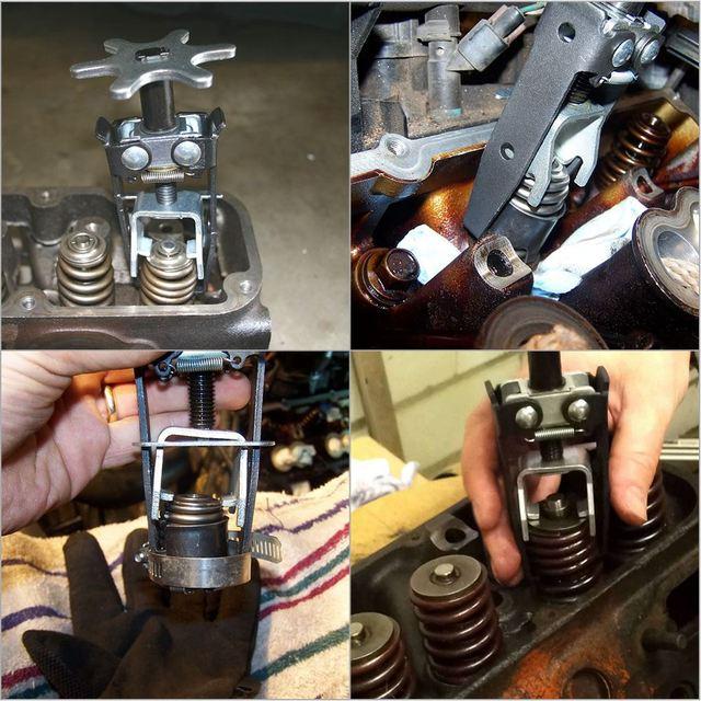 Universal Engine Overhead Valve Spring Compressor Valve Remover Installer tool