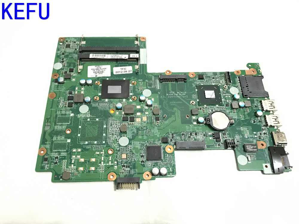 KEFU NEW Free Shipping 701697-501 DA0U36MB60 Laptop motherboard for HP  PAVILION 15-B NOTEBOOK PC WITH I3-2377M