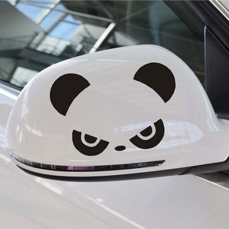 Cool 1 Pcs Car Sticker Panda Cat Dog Sexy Girl Booty Call Reflective Vinyl Car Sticker Decal Wholesale|2019 New Car Sticker in Car Stickers from Automobiles Motorcycles