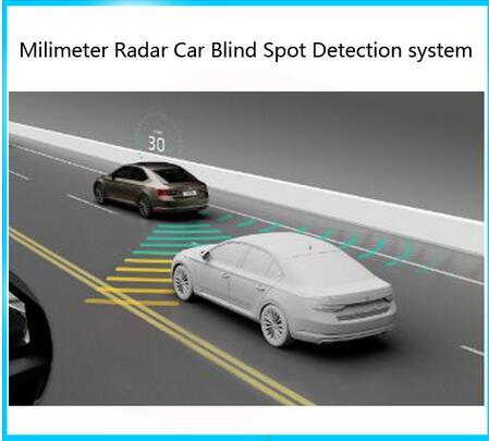 Best Del Sensore Radar A Microonde Blind Spot Auto Rilevamento Del Sistema Bsd Cambiamento Lane Assist Attenzione Rivelatore Di Sistema Di Allarme Di Monitoraggio