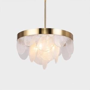 Image 1 - Nordic Aplomb Pendant Lights Modern Led Pendant Lamps White Hanglamp Aluminum luminaria for living room kitchen light fixtures