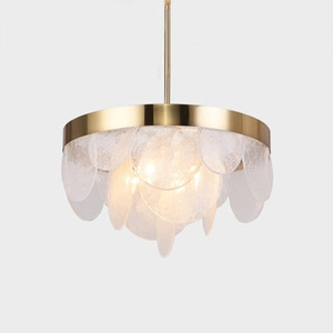 Image 1 - Nordic aplomb pingente luzes modernas lâmpadas led pingente branco hanglamp alumínio luminaria para sala de estar cozinha luminárias