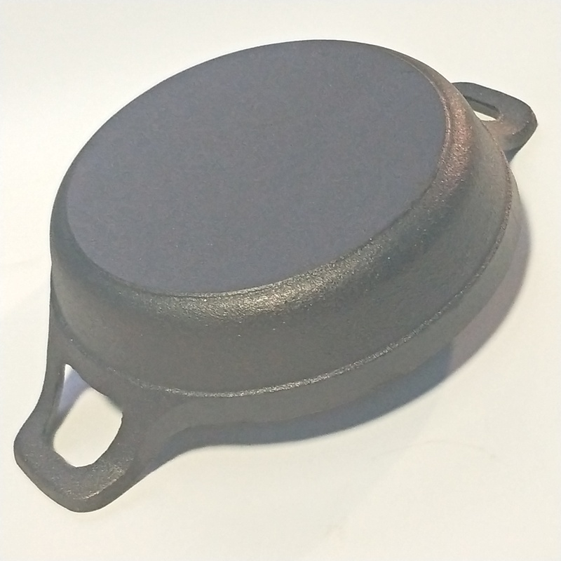 High-Quality Thickening Cast Iron Double Handle Non-Stick Mini Frying Pan 1