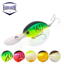 Купить с кэшбэком Crankbait Fishing Lure 9cm 12g Artificial Hard Bait Japan Topwater Crank Baits Minnow Bass Pike Lifelike Wobblers Pesca Tackle