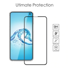 GerTong Ultra Thin Screen Protector For Samsung Galaxy S10 e / S 10e S10e Tempered Glass s10E Full CoverToughened 9H Hard Film