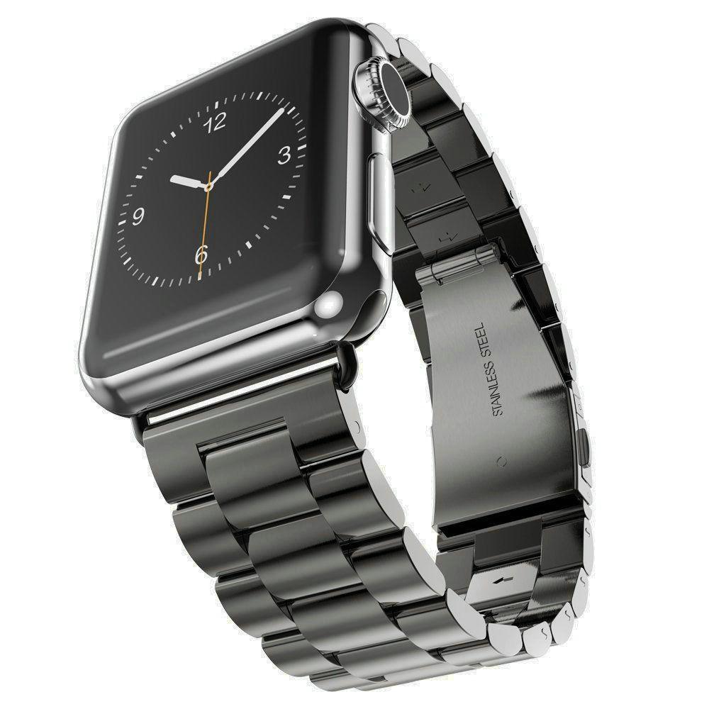 e68d3de2ecb Pulseiras de Relógio bracelet relógio band para apple Material da Faixa   Aço  Inoxidável