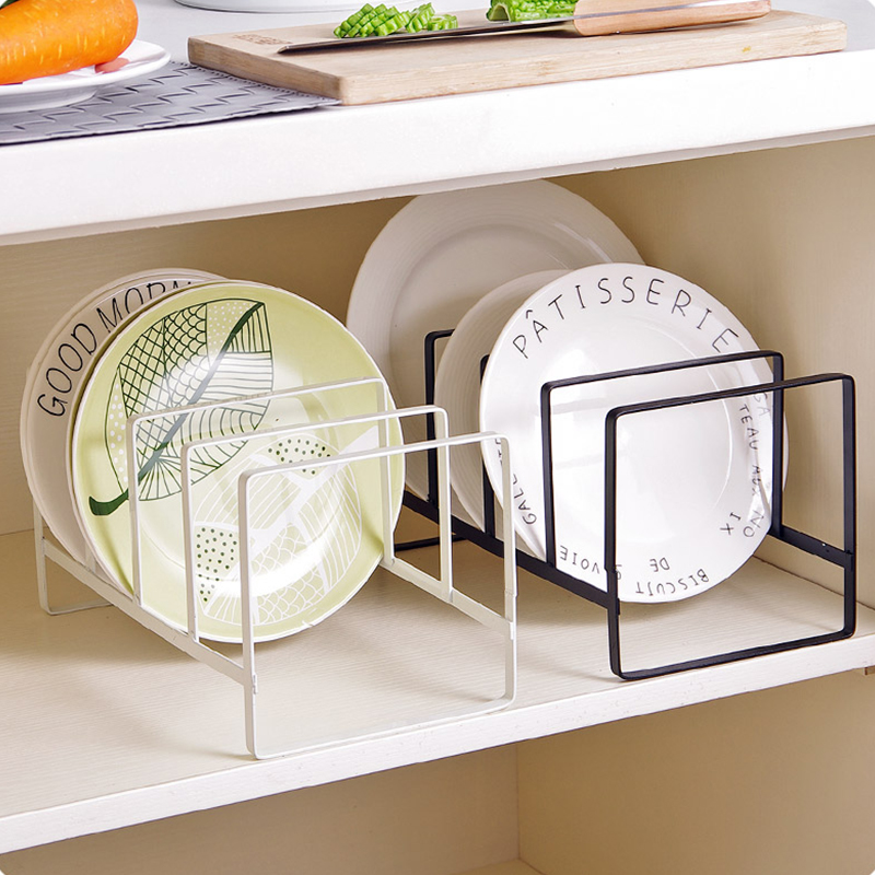 Iron Place Pot Lid Holder For kitchen organizer shelf Hanger Dish Rack shelves storage tool Accessories dishes and plates sets-in Storage Holders \u0026 Racks ... & Iron Place Pot Lid Holder For kitchen organizer shelf Hanger Dish ...