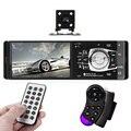 Универсальный 1 Din HD Автомобильный Радиоприемник Плеер С Камерой Заднего Вида 4.1 7-дюймовый Авто Видео Плеер Bluetooth Пульт Дистанционного Управления Стерео AUX FM USB