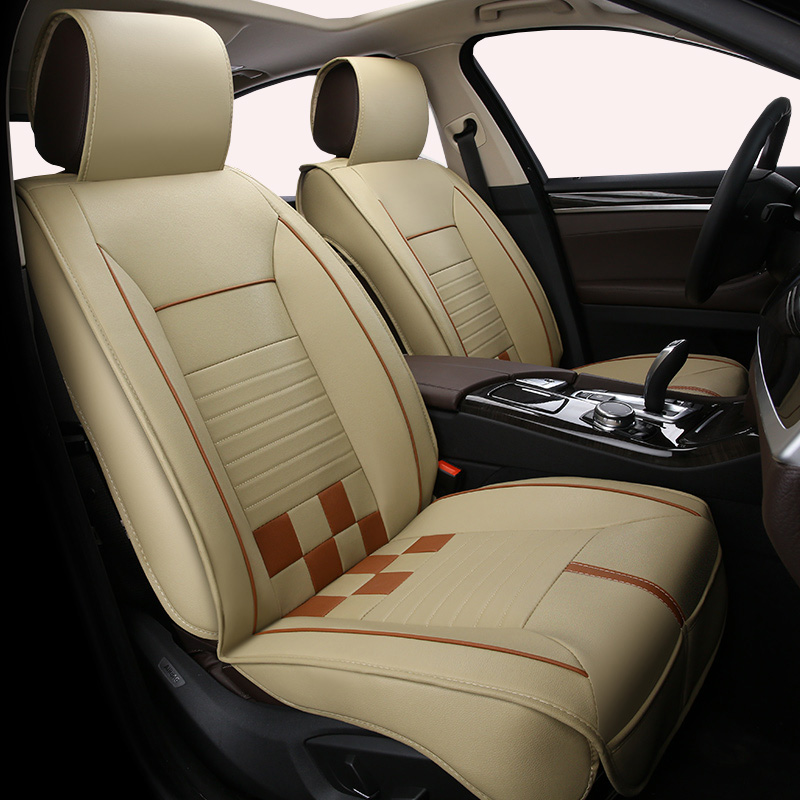 (Front + Rear) Universal special car <font><b>seat</b></font> <font><b>covers</b></font> For <font><b>Honda</b></font> accord 7 8 9 <font><b>civic</b></font> CRV CR-V fit vezel jazz <font><b>2017</b></font> 2016Car <font><b>Seat</b></font> styling image