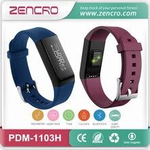 China Producer Contact Show Exercise and Sleep Tracker Sensible Coronary heart Price Wristband