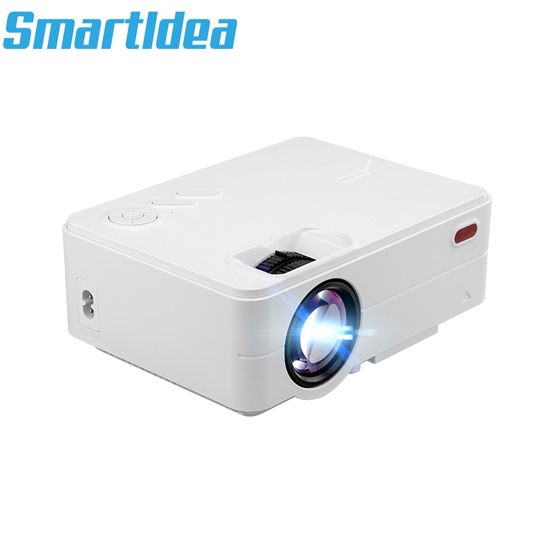 Smartldea 1800lumens Mini LED Projector Portable LCD 3D home Cinema Proyector 1080P Digital Video Beamer with