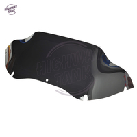 S 9 Motorcycle Tint Windshield Windscreen Case for Harley Touring Road Glide FLTR 1998 2013