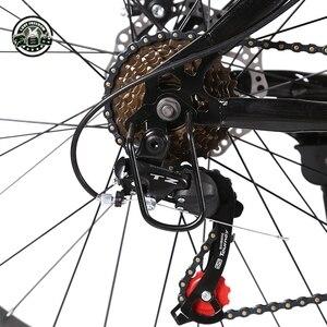 Image 5 - 愛自由最高品質のバイク 7/21/24/27 速度 26*4.0 脂肪バイクショックアブソーバー自転車送料配信雪バイク