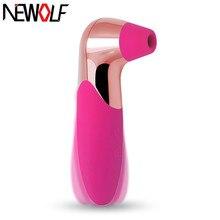 Oral Nipple Stimulator Sucker Womanizer Pussy Pump Vagina Vibrator Clitoris Licking Sex Toys Massager Nipple Sucking Tongue Q01