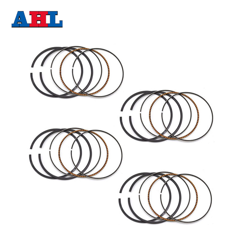 Motorcycle Engine parts STD Bore Size 66mm piston rings For KAWASAKI ZX-6R ZX6R ZX6 R ZX600 ZX 600 Ninja 2003 Piston Ring image