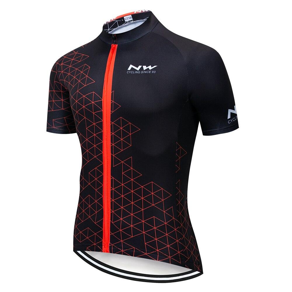 Camisa de Ciclismo Tops de Corrida de Verão Roupas de Ciclismo Esportivo para Andar de Bicicleta Manga Curta Bicicleta Macacão nw Mtb