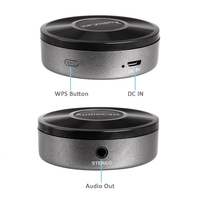 M5 Audiocast In Wreless Adapter WIFI Receiver Airplay DLNA 2.4G WiFi Music Radio iOS Android Airmusic Spotify Sound Streamer