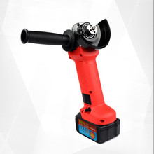 21V Cordless Brushless Grinder with 2.6Ah/4.0A Rechargable Lithium Li-ion Battery 125mm Angle Grinding Cutting Machine