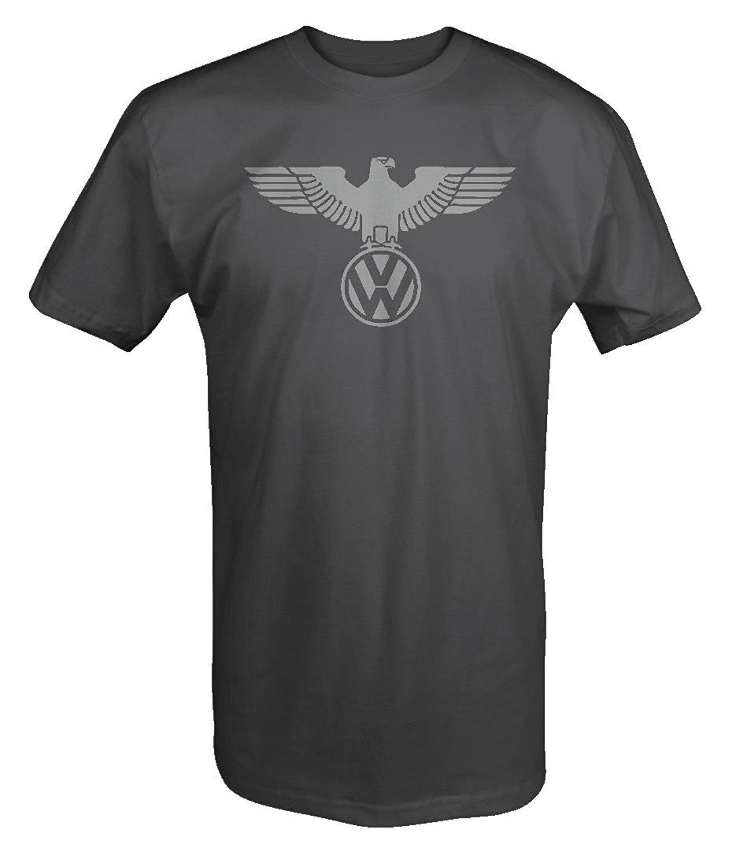 2018 Summer Cool Men Tee Shirt German Eagle EURO JDM GTI R32 Turbo T Shirt Funny T-shirt