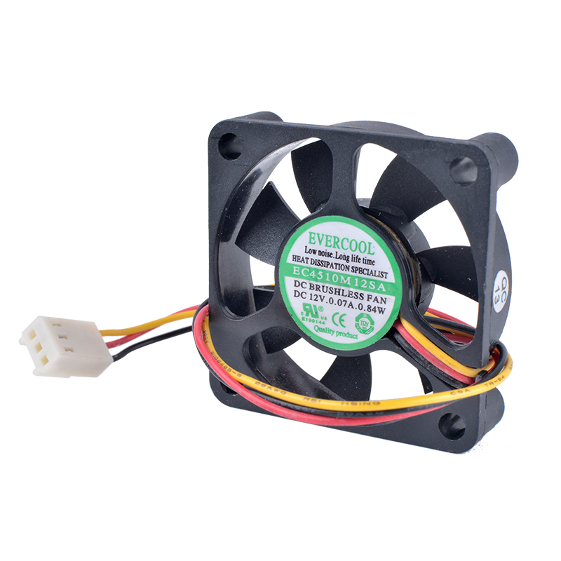 Купить с кэшбэком COOLING REVOLUTION EC4510M12SA 4510 45mm fan 4.5cm 45x45x10mm 12V 0.07A Computer CPU North and South Bridge Small Cooling Fan