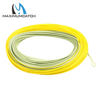 Maximumcatch Salmon Steelhead Fly Line With 2 Welded Loops WF8F Double Color Floating Fly Line For