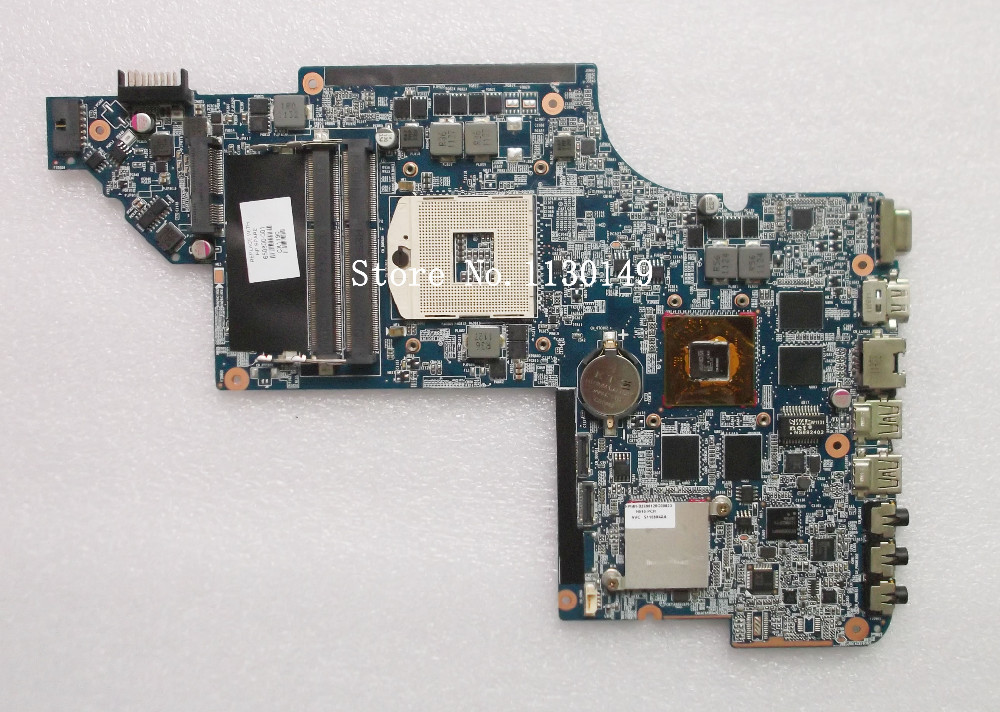 Original laptop Free Shipping Motherboard 650800-001 for HP PAVILION DV6 DV6-6000 HM65 HD6770/2G Notebook PC system board tested led телевизор samsung ue32k5500