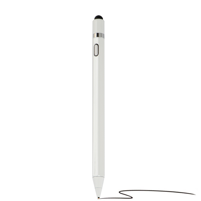 Capacitive Stylus Press Pen Screen Pencil Portable High Precision 1.45mm Active Tablet Pen Stylish Painting Rechargeable For A