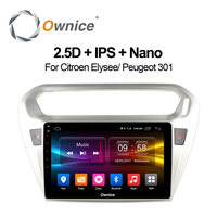 Ownice C500 2 Din Car Radio Player For Peugeot 301 For Citroen Elysee 2014 2015 2016