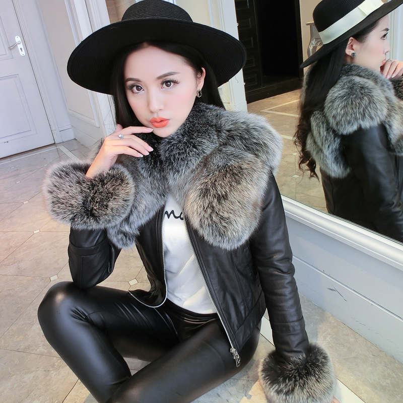 Women Faux   Suede   Fur Coats Motorcycle Biker Jacket 2018 Autumn Winter Warm Lamb Wool Coat Fashion Female Lapel Zipper Outwear