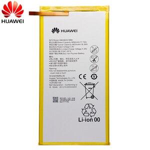Image 3 - Hua Wei Original Tablet Batterie HB3080G1EBC/HB3080G1EBW für Huawei Mediapad M1 8,0 T1 821W/823l M2 803L Ehre S8 701W 4800 mAh