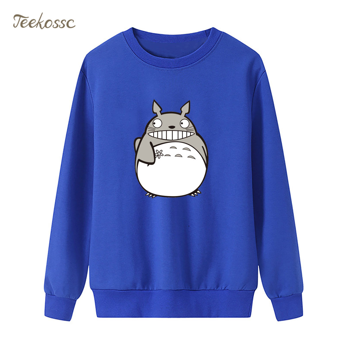 My Neighbor Totoro Sweatshirt Japan Anime Hoodie 2018 New Brand Winter Autumn Women Lasdies Pullover Fleece Warm Cute Streetwear