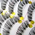 Популярные 10 пар косметическая техногенные длинные накладные ресницы редкие ресницы макияж установить