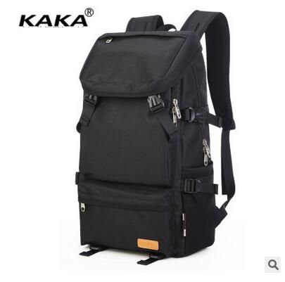Brand KAKA Laptop Canvas Backpack Men Travel bag Women Travel Backpacks School Backpacks Unisex Shoulder Bags Large Capacity 13 laptop backpack bag school travel national style waterproof canvas computer backpacks bags unique 13 15 women retro bags
