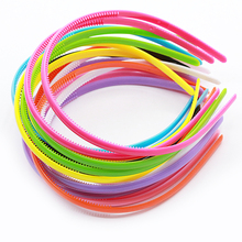 Hot 1PC Candy color Plastic Headband 0.8CM  Korean Sweet girls kids Hair band
