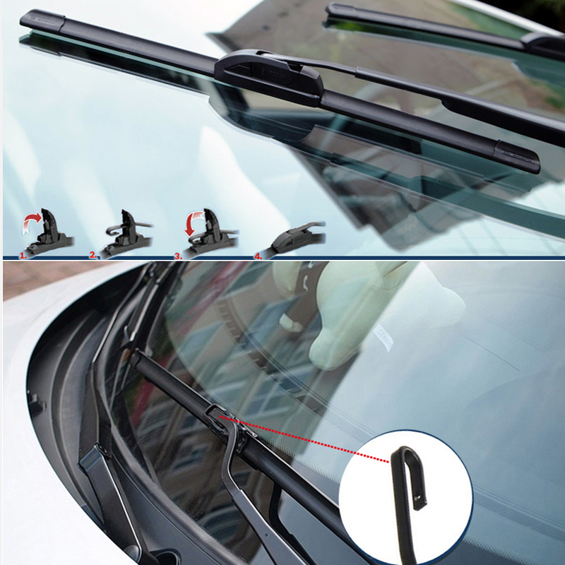 Car Wiper Blades Windshield Wipers For Janitors Windscreen Honda Civic 2pcs 2016 2017 2018 In From Automobiles