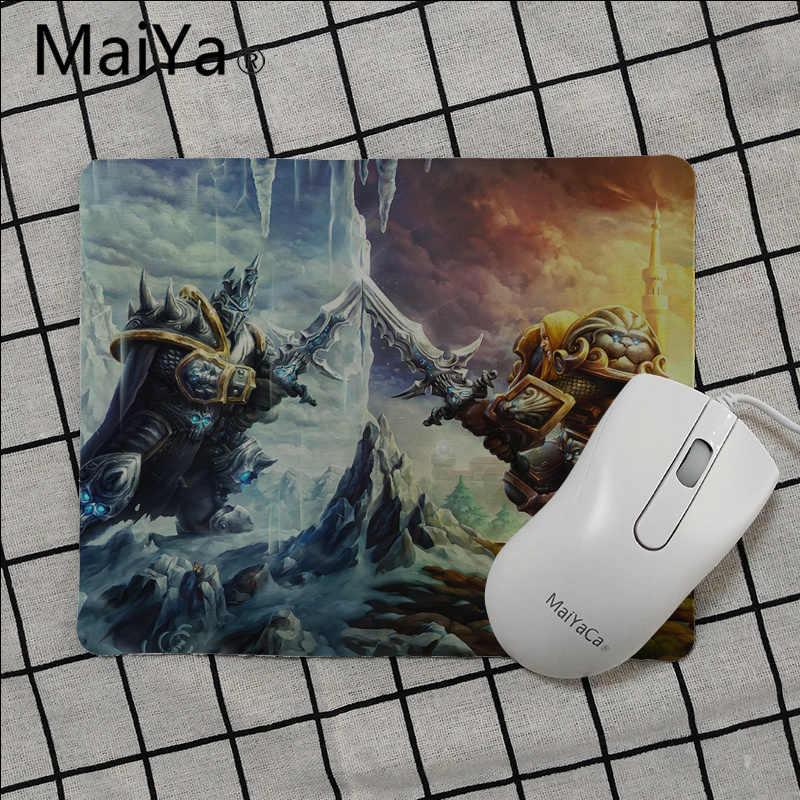 Maiya WOW World of Warcraft клавиатура коврики для игровой мыши резиновая ПК компьютерных игр мышь pad