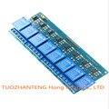 1 pçs/lote Com optoacoplador 8 canais painel de controle do relé módulos de relé PLC relé 5 V módulo