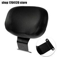 Motorcycle Leather Driver Backrest Pad Sissy Bar Black For Honda Shadow VT400 VT750 1997 2001 2002 2003