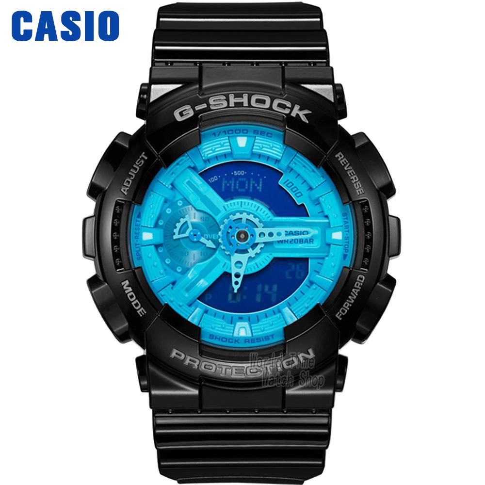 купить Casio watch shockproof double display electronic waterproof sports men watch GA-110BR-5A по цене 10000.27 рублей