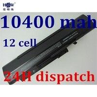 HSW SIYAH Pil 10400 mah 11.1 v laptop batarya acer Aspire One A110 A150 ZG5 UM08A71 UM08A72 UM08A73 UM08B74 UM08A31 12 cep