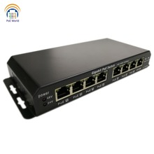 Poe-Switch Poe-Extender Phone-Ip-Camera Power-Over Gigabit with 7-Poe Output for VOIP