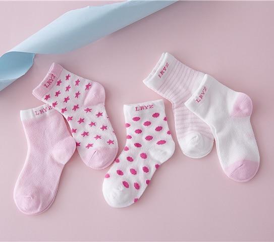 1 Los = 10 Para Baumwolle Baby Socken Set Frühling/herbst Winter Neue Infant Kleinkind Boden Kein Knochen Für 0-6y Aqw-r9