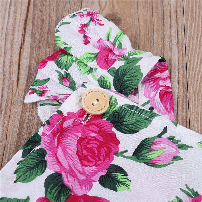 Newborn-Infant-Baby-Girls-Clothes-square-collar-sleeveless-Bodysuit-Floral-print-Bowknot-Headband-2PC-cotton-casual-Outfit-5