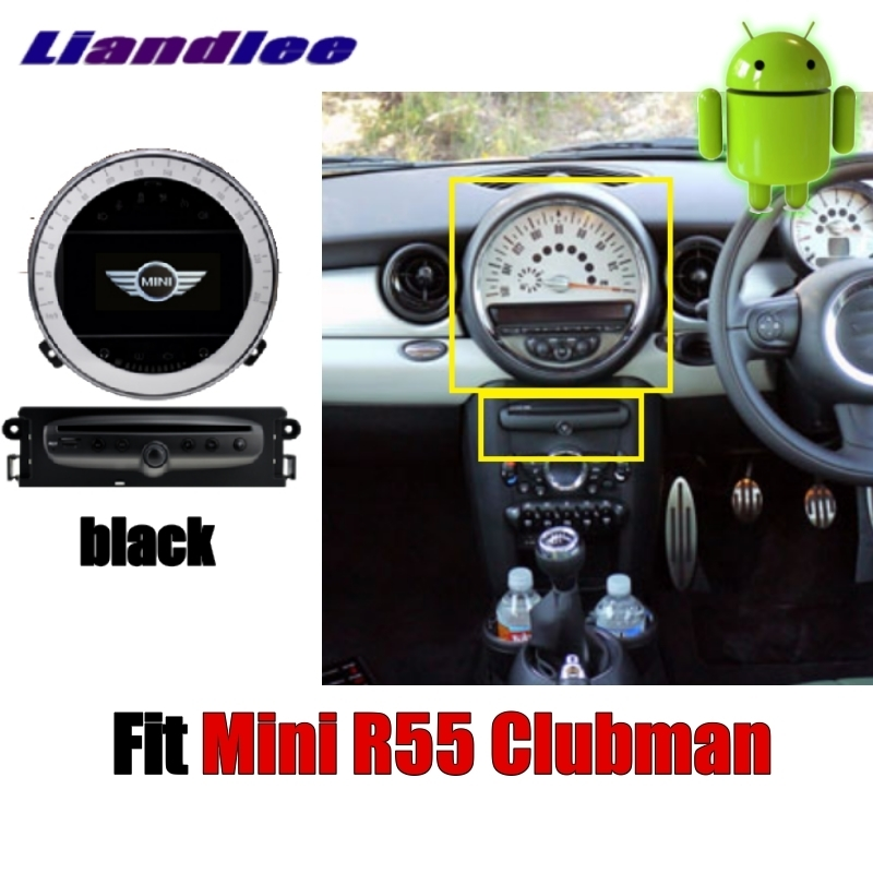 Sale Liandlee Car Multimedia No DVD Player NAVI For Mini Clubman R55 2007~2014 Android system Car Radio Stereo GPS Map Navigation 2