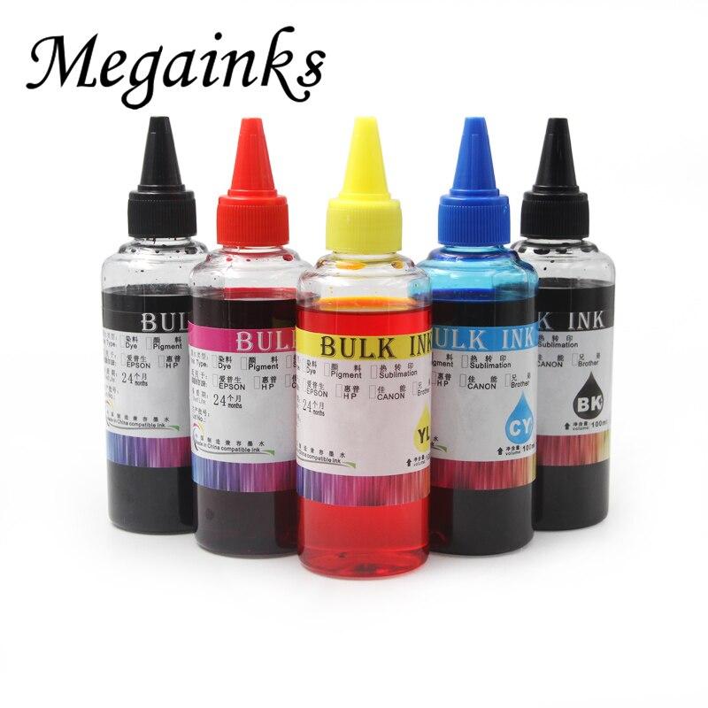 100 мл набор заправки чернил, красителей для Canon PGI-550 CLI-551 PIXMA IP7250 MG5450 MX925 MG5550 MG6450 MG5650 MG6650 IX6850 MX725