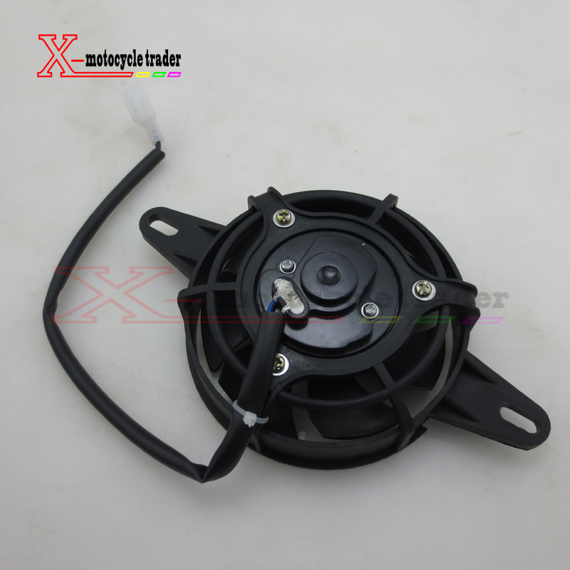 Oil Cooler Water Cooler New Electric Radiator Cooling Fan For 200 250 cc Chinese ATV Quad Go Kart Buggy Dirt Bike Motorcycle 1000mm 2300mm dirt pit bike pocket bike monkey bike motorcycle scooter atv quad buggy go kart hydraulic brake oil hose oil pipe page 2